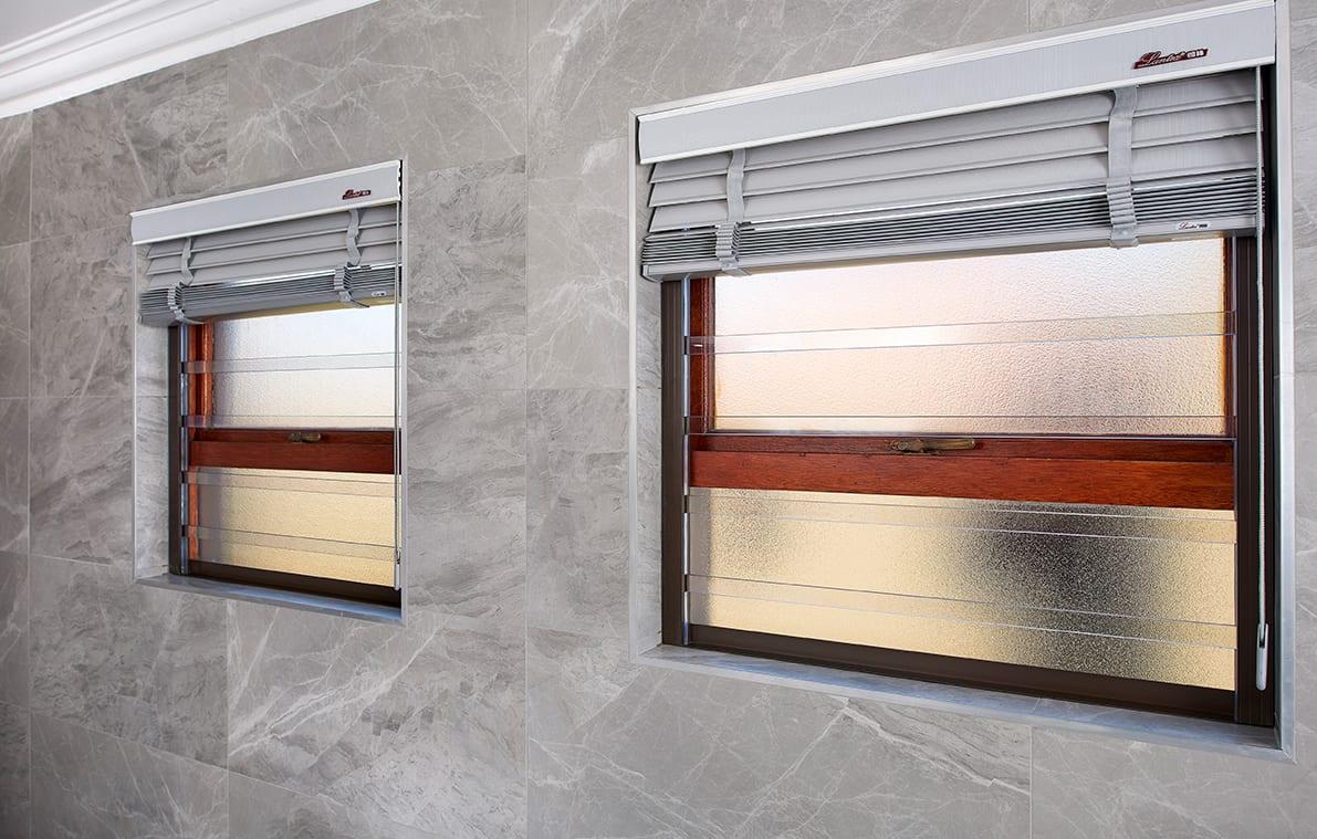 Treli Bathroom windows