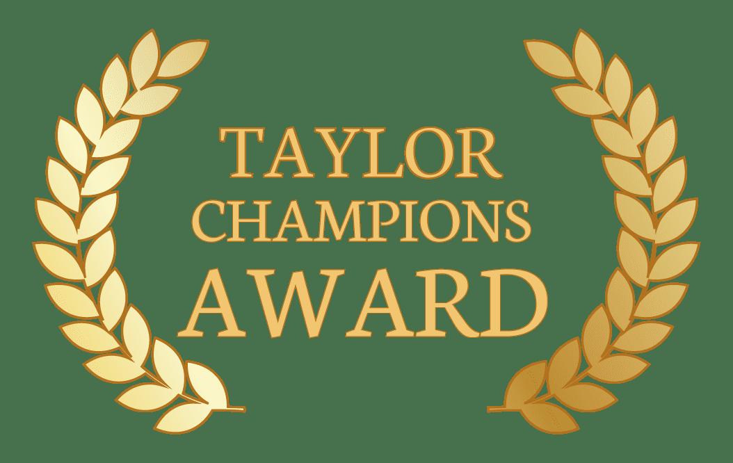 Taylor Champions Award