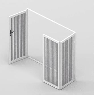 Clear Guard 3 Panel Bifold