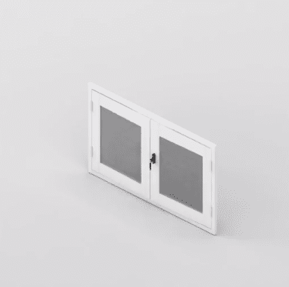 Clear Guard French Unit 4 sides Window