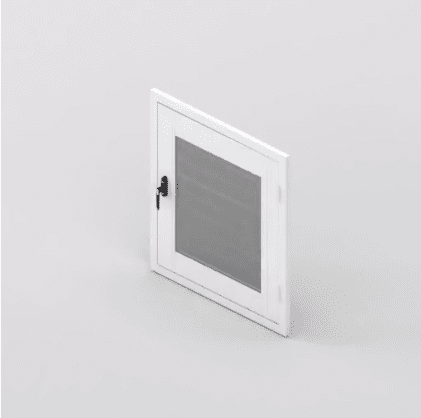 Clear Guard Hinge Unit Window
