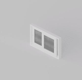 Clear Guard bifold 2 panels