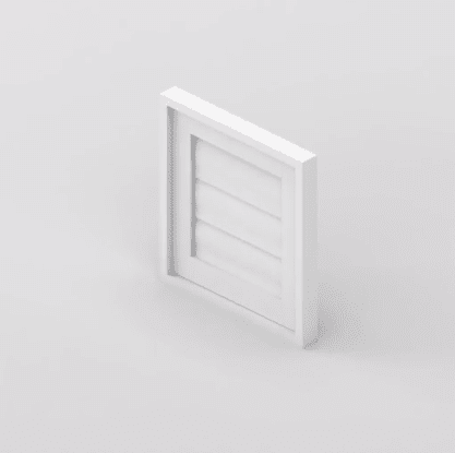 Security Shutter Fixed Unit Window