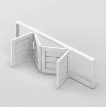 Security Shutter Flexi BiFold Door