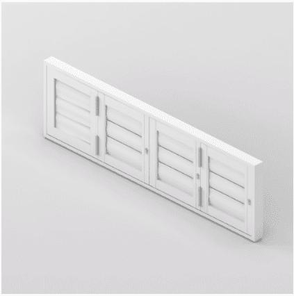 Security Shutter Flexi BiFold Window