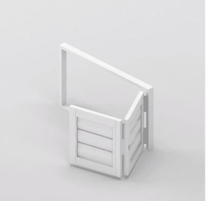 Security Shutter Floating BiFold Door