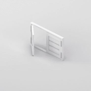 Premium Shutter French Unit Door Image