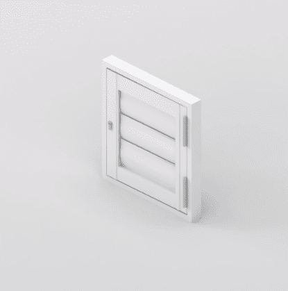 Security Shutter Hinge Unit Door