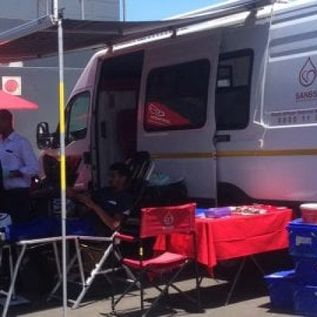 Trellidorians make a difference by donating blood