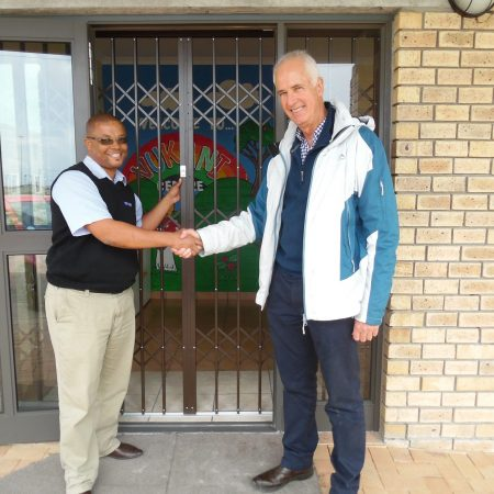 New Trellidor Retractable gates at Vukani Centre